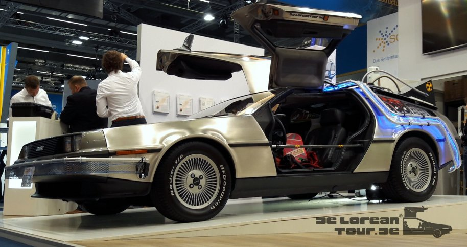 Rent a Delorean hire a Timemachine Germany Austria, France