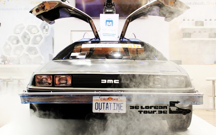 Rent a Delorean hire a timemachine Germany Austria
