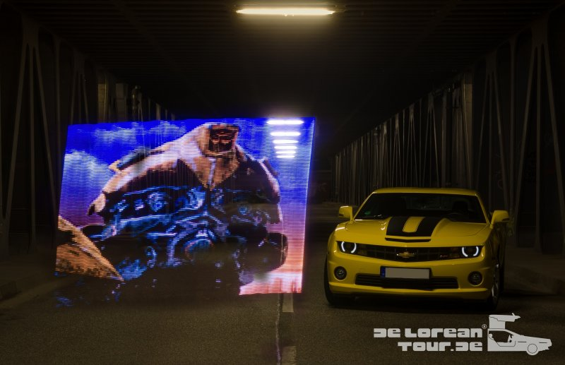 Transformers Bumblebee Chevrolet Camaro gelb yellow