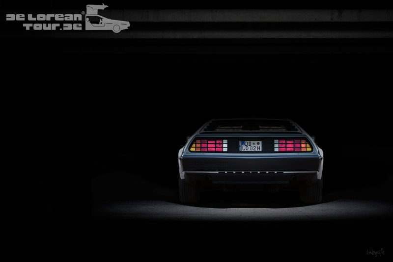Delorean Heck Rückleuchten Rückseite Back Lights