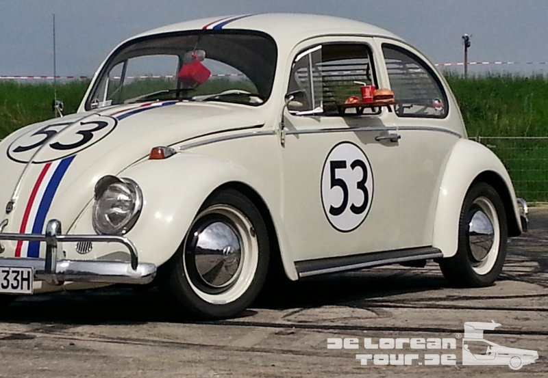 VW Käfer Filmauto Herbie 53 in Dresden