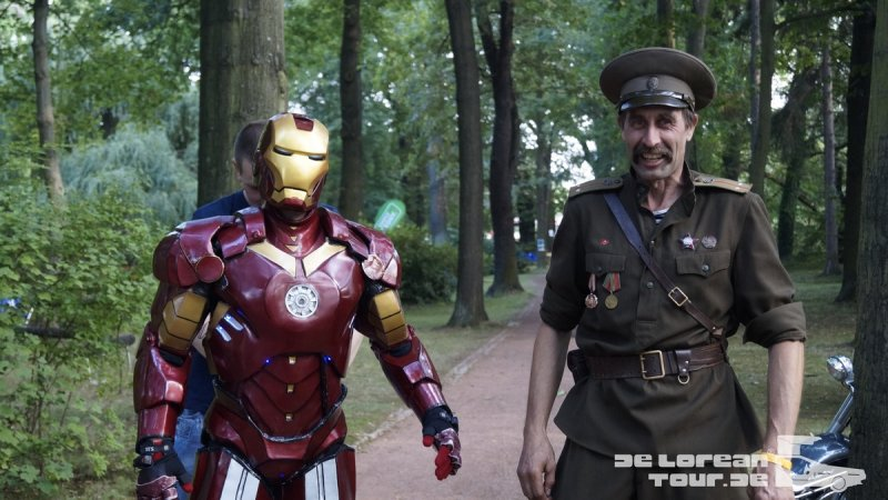 Iron Man meets russian Soldier
