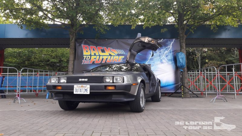 Delorean Timemachine buchen